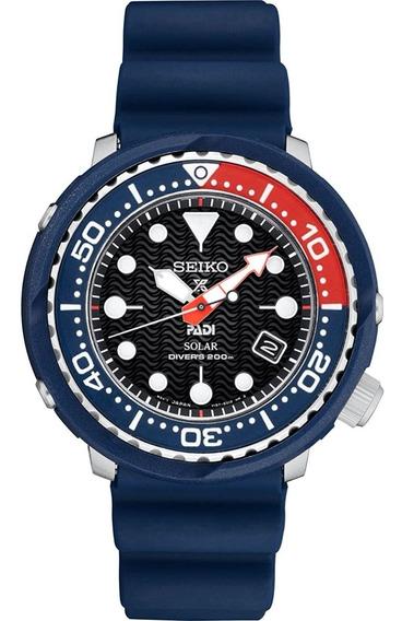 Reloj Seiko Sne499 Buzo Negro Dorado Tuna -entrega Inmediata