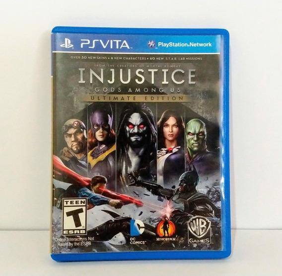 Injustice Gods Among Us Psvita
