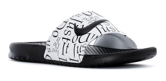 Ojotas Nike Benassi Jdi Hombre Negro/ Blanco 631261032