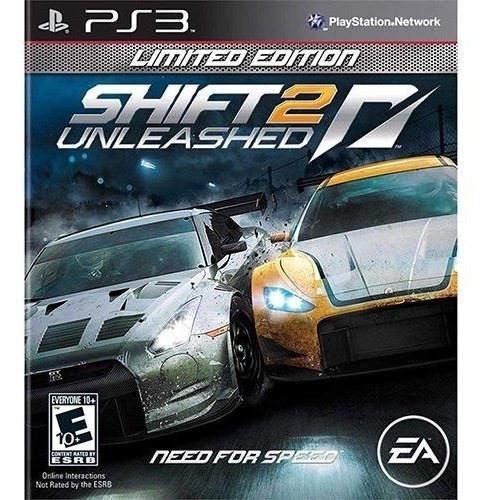 Need For Speed Shift 2 Unleashed Limited E. Ps3 Mídia Física