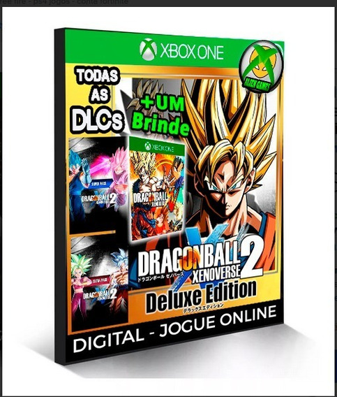 Dragon Ball Xenoverse 2 + Dlcs X Box One Digital
