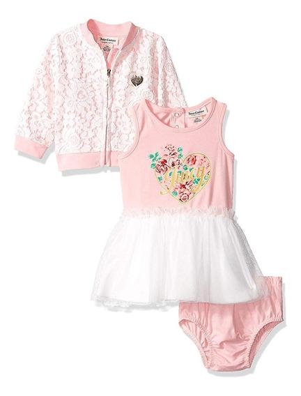 Conjunto Juicy Couture Para Bebé 3-6 Meses