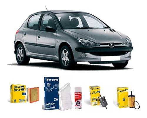Imagem 1 de 7 de Filtro Ar /óleo / Cabine / Orbi Peugeot 206 1.6 16v 2005