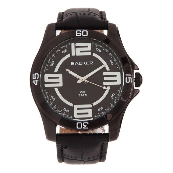 Relógio Backer Couro - 3227112m