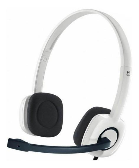 Fone De Ouvido Logitech Headset H150 Casque Stereo | Vitrine