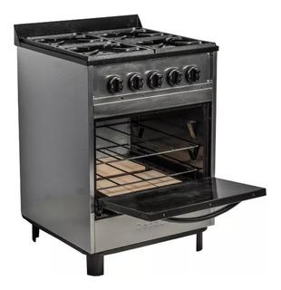 Cocina Industrial Depaolo Retro 4 H 60 Cm Horno Pizzero