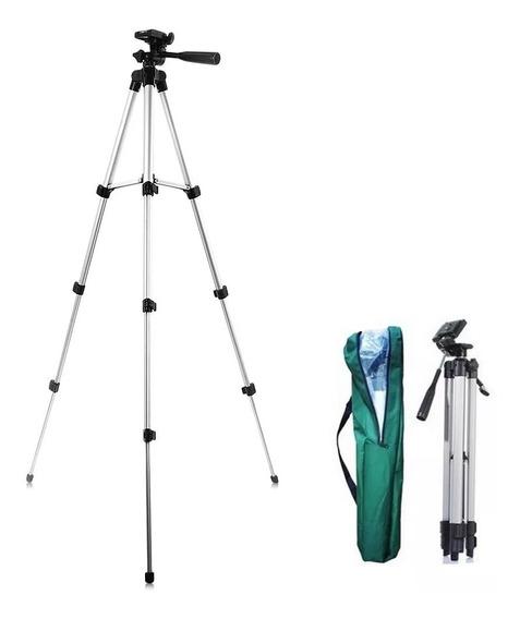 Tripe Com Bolsa P/ Nível A Laser Ou Câmera Fotográfica Com 150cm De Altura