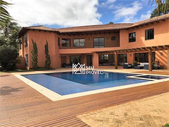 Casa Com 6 Dormitórios À Venda, 1580 M² Por R$ 15.000.000 - Condomínio Terras De São José - Itu/sp - Ca1888