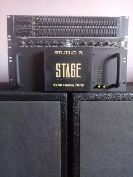 Potência Stage 3200 Studio R