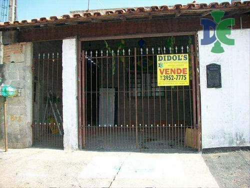 Casa Com 2 Dormitórios À Venda, 65 M² Por R$ 180.000,00 - Jardim Flórida - Jacareí/sp - Ca0433
