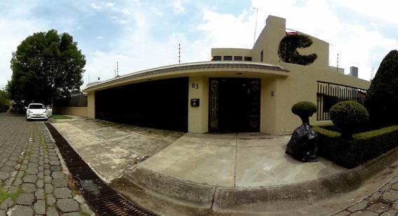 Residencia Para Reformar, En Una De Las Colonias Con Mayor Plusvalía De La Ciudad De México