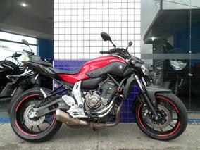 Mt 07 Abs 2016 Vermelha !! Moto Impecavel!!!!
