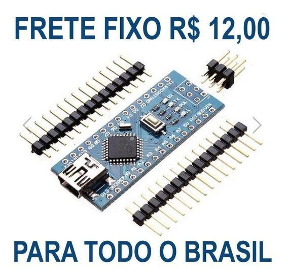 Arduino Nano V 3.0 Rev3 Atmega 168 5v 16mhz - Pronta Entrega