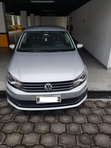 Volkswagen Polo Sedan 2018 27500km Unico Dueño Camara Retro