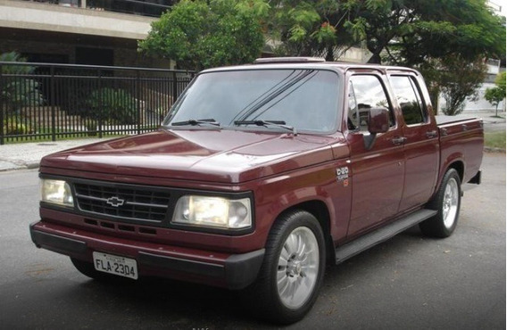 Chevrolet C20 4.1 Custom S Cd 8v Gasolina 4p 1995 Vermelha