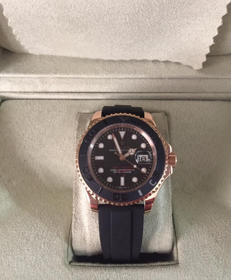 Relógio Jk980 Automático Yacht-master L , Puls. Silicone Top