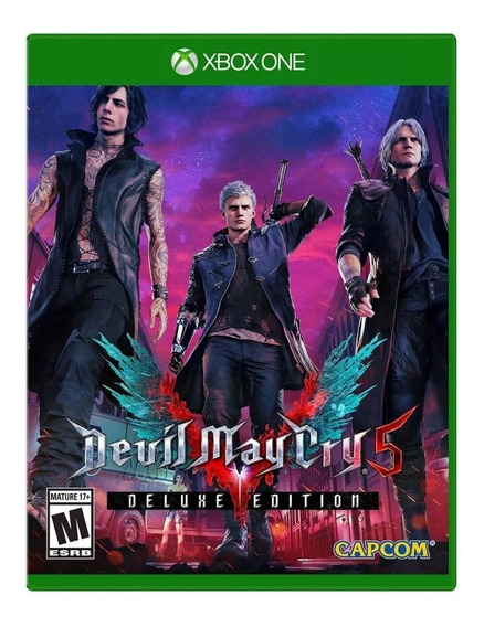Devil May Cry 5 Deluxe Xbox One Mídia Digital+ 1 Jogo Grátis