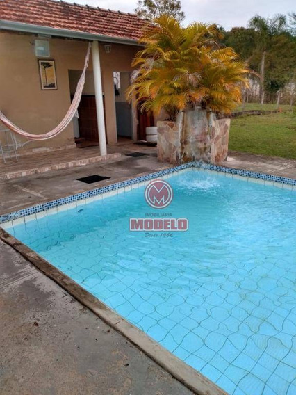 Chácara Com 2 Dormitórios À Venda, 2000 M² Por R$ 450.000 - Serra Azul Ii - Charqueada/sp - Ch0173