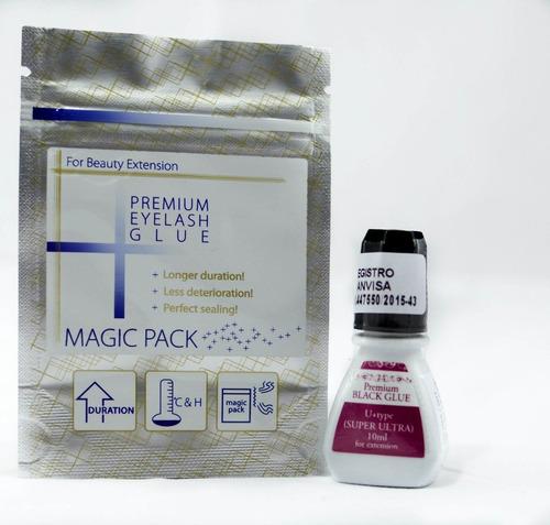 Imagem 1 de 1 de Cola Alongamento Cílios Fio A Fio Profissional Premium Black