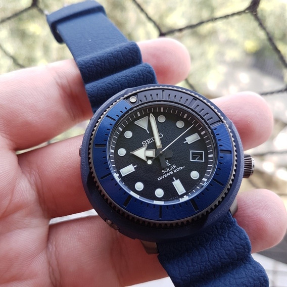 Relógio Seiko Street Series Tuna Solar Sne533 Ñ Sumo Monster