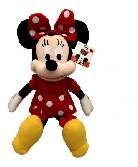 Minnie Mouse De Pelúcia Com Frases 40 Cm Disney Multikids