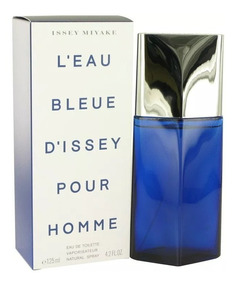 Perfume Issey Miyake Bleue 125ml Lacrado Original Edt