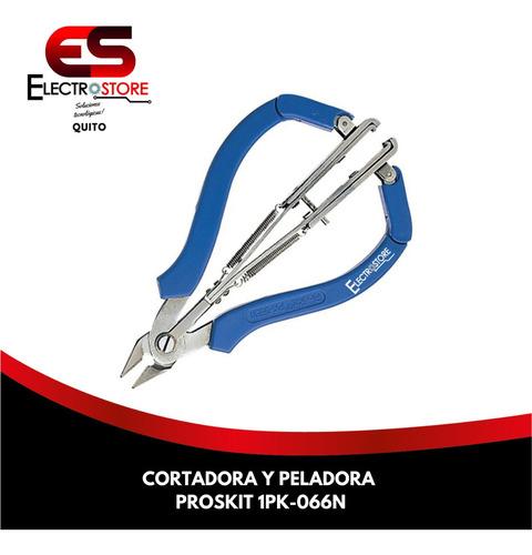 Cortadora Y Peladora 1pk-066n De Cables 2 En 1 Proskit