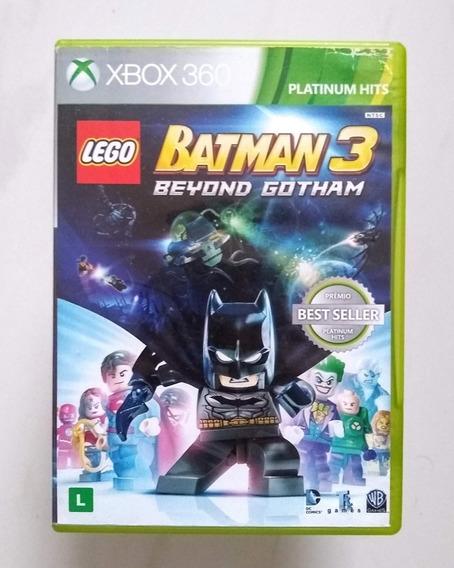 Lego Batman 3 Xbox 360 Original Seminovo 100% Português