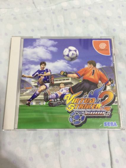 Virtua Striker 2 Japonês Para Dreamcast