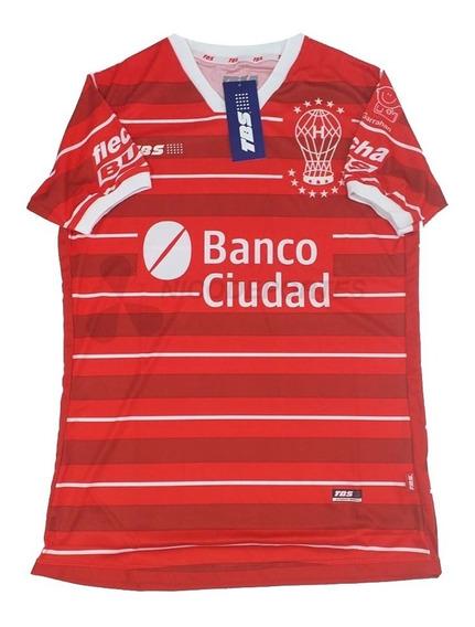 Camiseta Huracan Suplente Roja Tbs 2020 + Numero Nombre