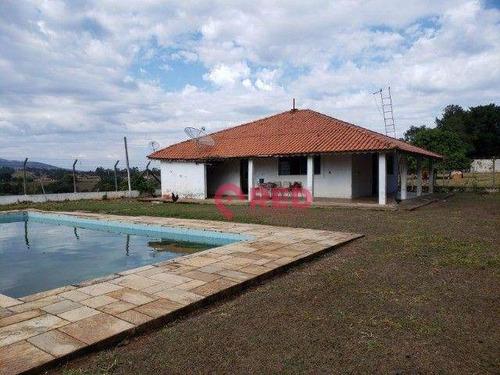 Imagem 1 de 12 de Chácara Com 2 Dormitórios À Venda, 36300 M² Por R$ 790.000,00 - Vila Capoava - Iperó/sp - Ch0059