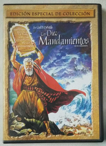 Dvd Los Diez Mandamientos