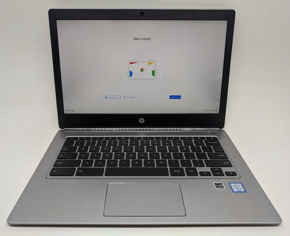 Chromebook Hp 13 G1 M7 3,10ghz Grade B 16gb Ram 24gb 13 Pol
