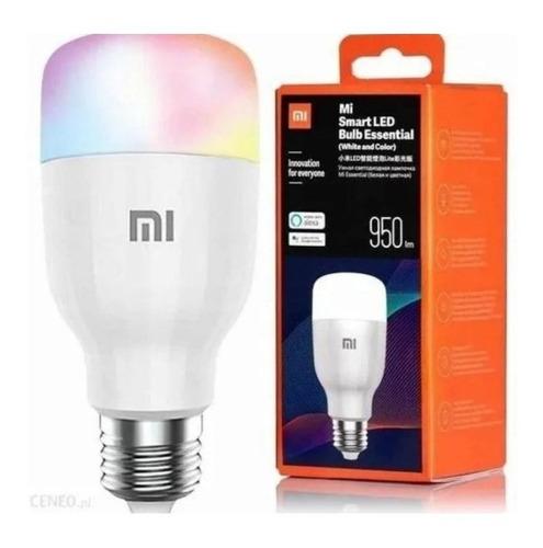Imagem 1 de 4 de Lâmpada Yeelight Smarth Bulb 1s Color Com Comando Da Alexia