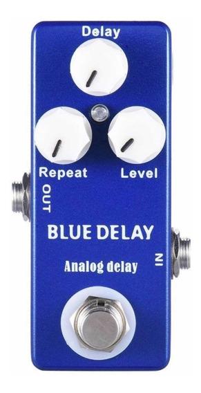 Pedal Delay Para Guitarra Mosky Blue Delay