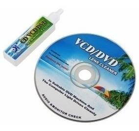 Kit Limpa Lente Cleaner Limpeza Dvd/cd/blu-ray/game Yh-608