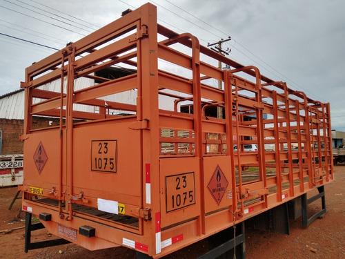 Gaiola De Gás/14 Para Caminhão Toco Com 6.5x1.85x2.55 M