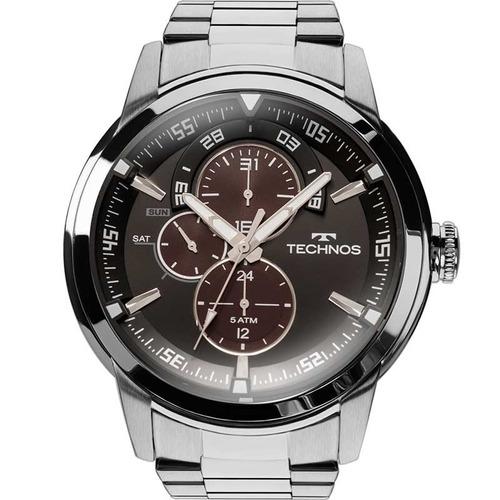 Relógio Technos Masculino Grandtech Clássico 6p57ad/1p