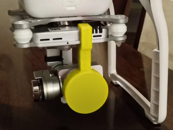 Protetor/tampa Lente E Trava Gimbal - Dji Phantom 3 Pro