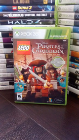 Lego Piratas Do Caribe Xbox 360 Original Envio Imediato