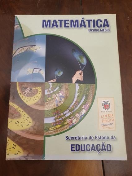 Livro Didático De Matemática Para Ensino Medio