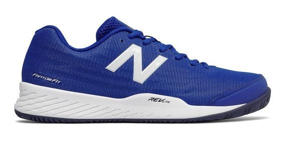 Zapatillas Tenis Hombre New Balance 896v2 Deportiva Azul