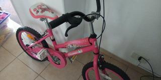 Liquido Bicicleta Princesas Disney Rodado 12 Impecable