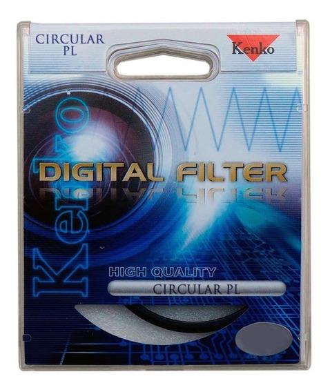 Kenko Filtro Polarizador Cpl 49mm 52mm 55mm 58mm 67mm 72mm