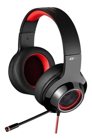 Headset Gamer Edifier G4 Surround 7.1 Usb C/sistema Vibração