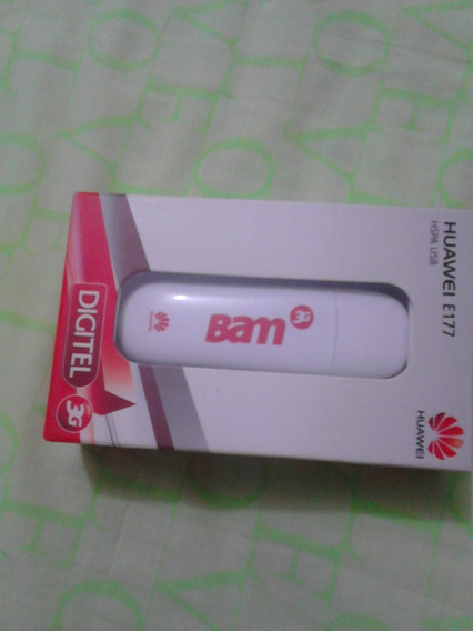 Modem Bam Digitel Huawei 3g E177 Sin Linea, Fotos Reales, 22