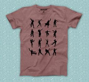 Playera Fortnite Bailes Camiseta Geek Gamer