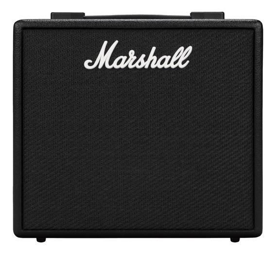 Amplificador Guitarra Electrica Marshall Code 25 C/efectos