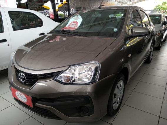 Etios 1.5 X Sedan 16v Flex 4p Automático 47585km