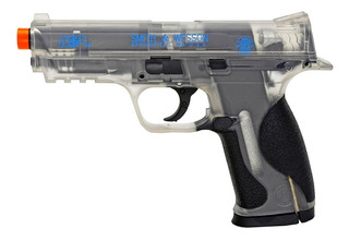 Marcadora Airsoft Co2 Bbs Plástico 6mm Smith & Wesson